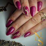 paznokcie, stylizacja, manicure hybrydowy